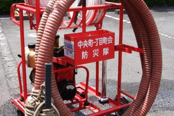 小型消防ポンプ操法大会